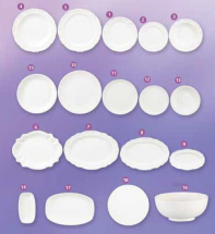 Dinnerware Moulds