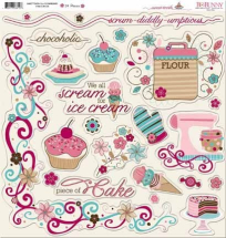 Scrapbooking Chipboards