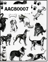 Clear Stamp-Stick N Stamp Dogs/Cats