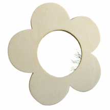 Flower mirror 225x225mm