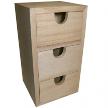 Mini chest 3 drawers 15x5x8cm