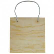Wood plaque hanger square 160x160x8mm