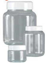 150ml Clear Jar & Lid