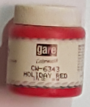 GARE Colour Wash - Holiday Red