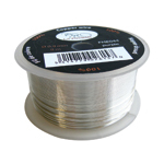 Copper wire 0.9mm 9m silver