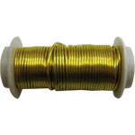Copper wire 0.9mm 9m lime green