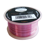Copper wire 0.9mm 9m pink