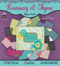 Rosemary & Thyme 6x6 Paper Pad