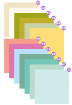 KaiserCraft 12inch Cardstock- Assorted pk of 40