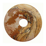 Picture jasper doughnut ring 40mm