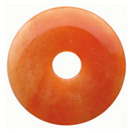 Red aventurine doughnut 50mm