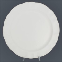 Bisque Serving Plate 307mm Dia