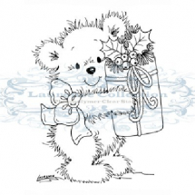 Clear Stamps-Stampavie-Merry Bear