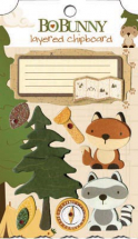BoBunny Camp-A-Lot Layered Chipboard