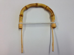 Round Bamboo Teapot Handle 100mm
