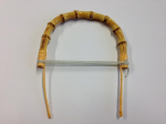 Round Bamboo Teapot Handle 125mm