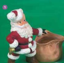 Santa with Present Sack Mould(H106)