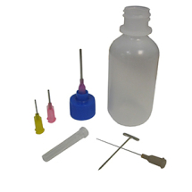 Glaze Decoration/ Slip Trailer 2oz Bottle,16,18,20 Gauge Tips