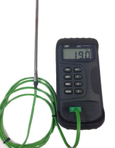 Handheld Pyrometer TM305 with K Type 1200°C Thermocouple
