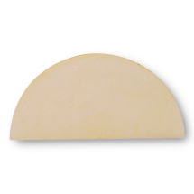 Kiln Shelf- Half Round Batt-420x19mm Topworker80/120