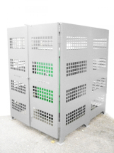 3-Sided Kiln Cage, Sheet Metal 1.45W x 1.7D x 2.1H