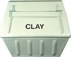 Clay Storage Bin 250kg Capacity
