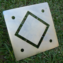 Cowley Large Square Hollow Die Plate fits P6583