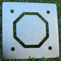 Cowley Large Octagonal Hollow Die Plate fits P6583