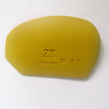 Firm Silicone Rib smooth edges - Yellow
