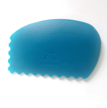 Firm Silicone Rib arch serrations - Blue