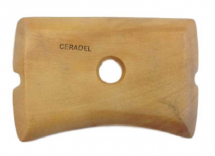 Flat With Concave Wooden Throwing Rib