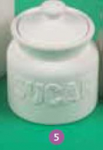 Sugar Embossed Storage Jar Mould  (No 5)