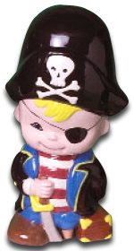 Pirate Money Box Mould