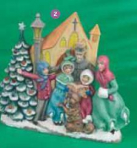 Christmas Carollers Mould