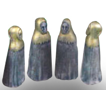 Chess Templar 4 Pawns Mould