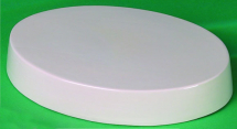 Deep Oval Plaque Or Base Mould 222mm x 170mm