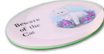 Small Oval Plaque Mould 215 x 165mm