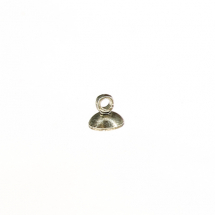 Hang top for glass balls, antique Silver