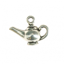 Teapot 15x20mm antique silver 12pcs