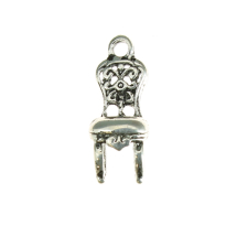 Louis 25th chair 18x6mm antique silver