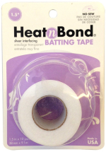 Heatnbond batting tape 1.5inch x 10 yd