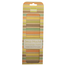 Deco Mache - Boho Chic - Stripes