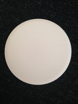 Large Circular Coaster- Bisque Tile 153mm Diameter