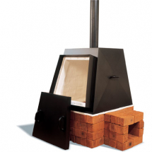 RODERVELD Pyramid 240lt Wood Fired Kiln