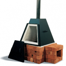 RODERVELD Pyramid 135lt Wood Fired Kiln