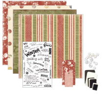 SC028 Scrapbook Kit Holly
