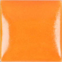 Duncan Satin Neon Orange Glaze  - 4oz