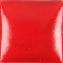 Duncan Satin Neon Red Glaze -  4oz