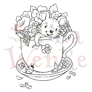 Tina Wenke-Mouse in a Tea Cup