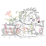 Tina Wenke-Hedgehog Reading
